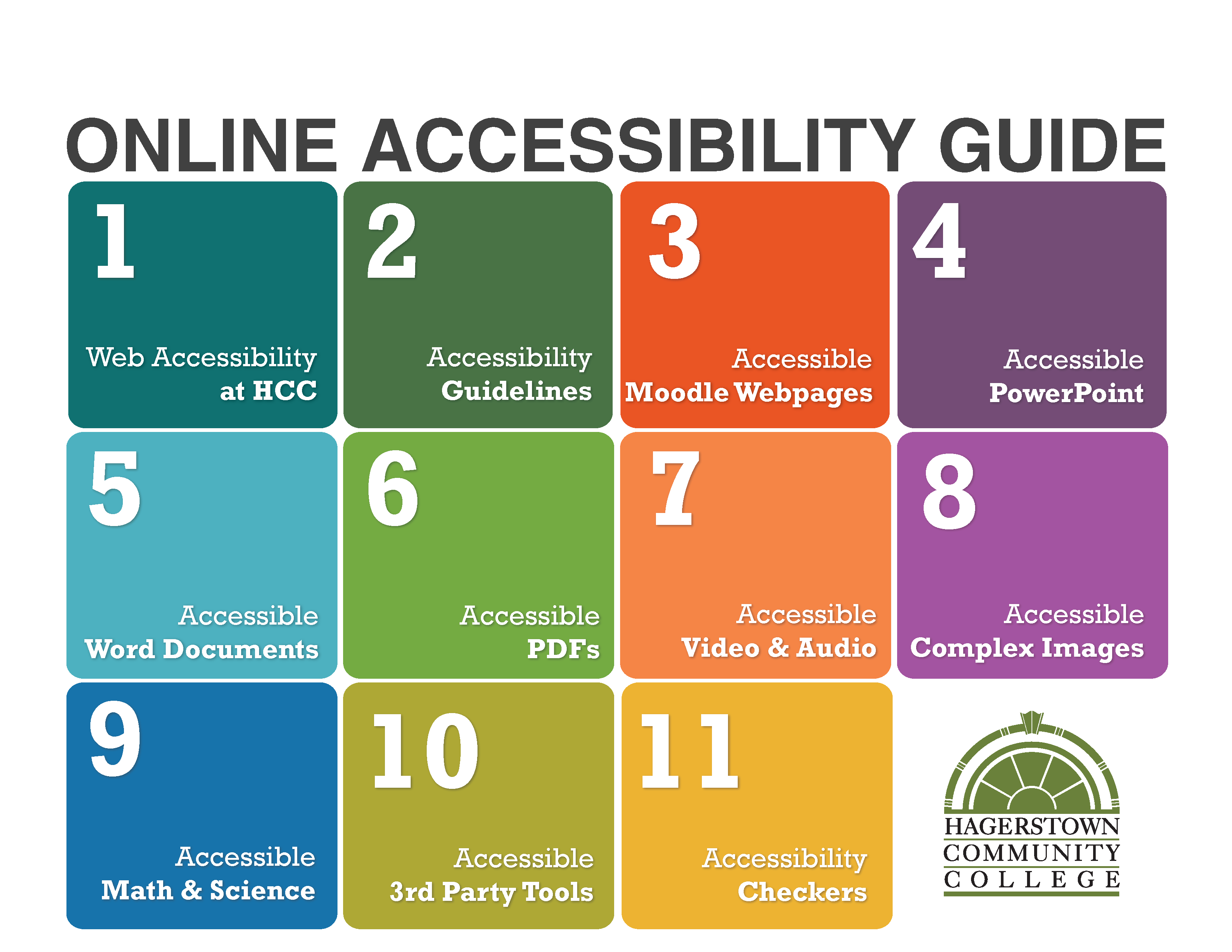 Online Accessibility Guide cover