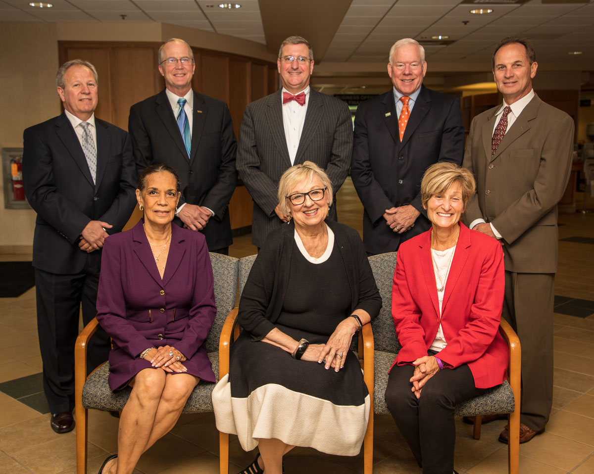 HCC Board of Trustee members
